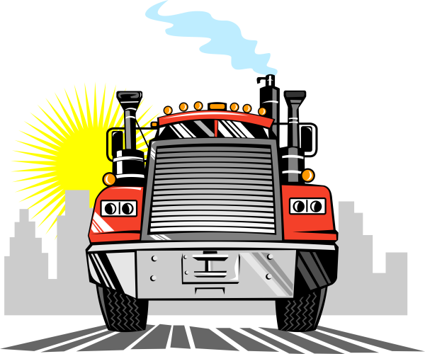 freight bill factoring - truck image