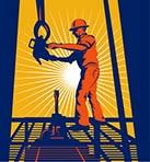 Oil rig worker