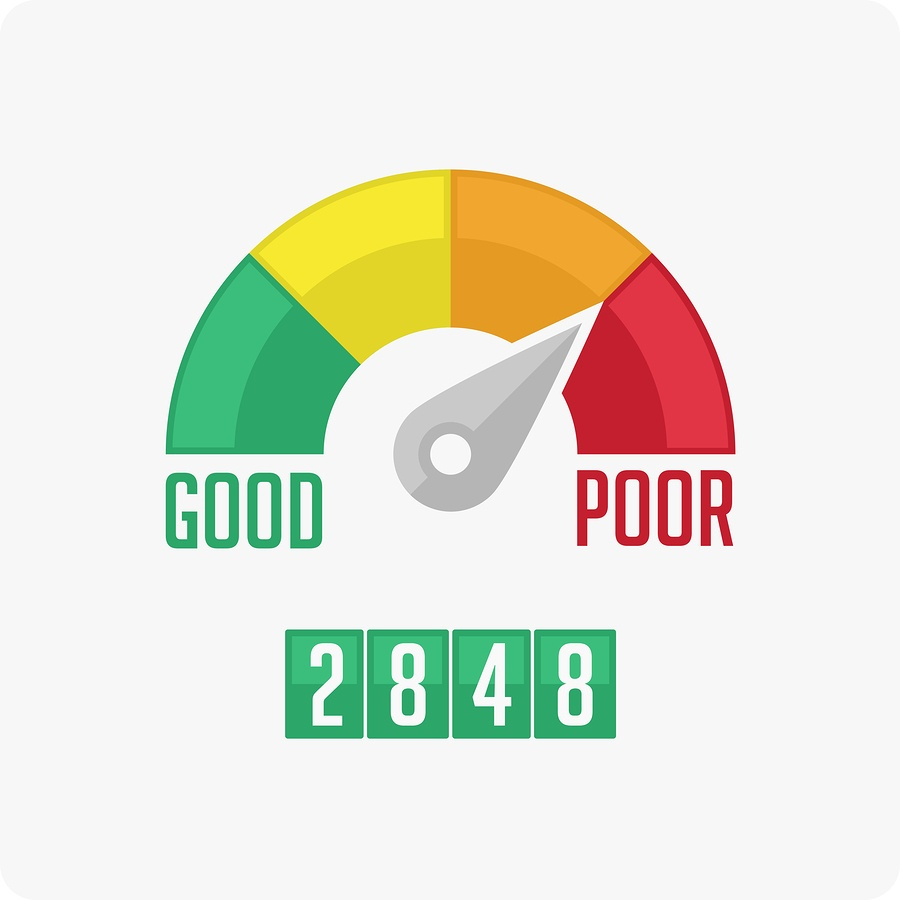 Credit score counter
