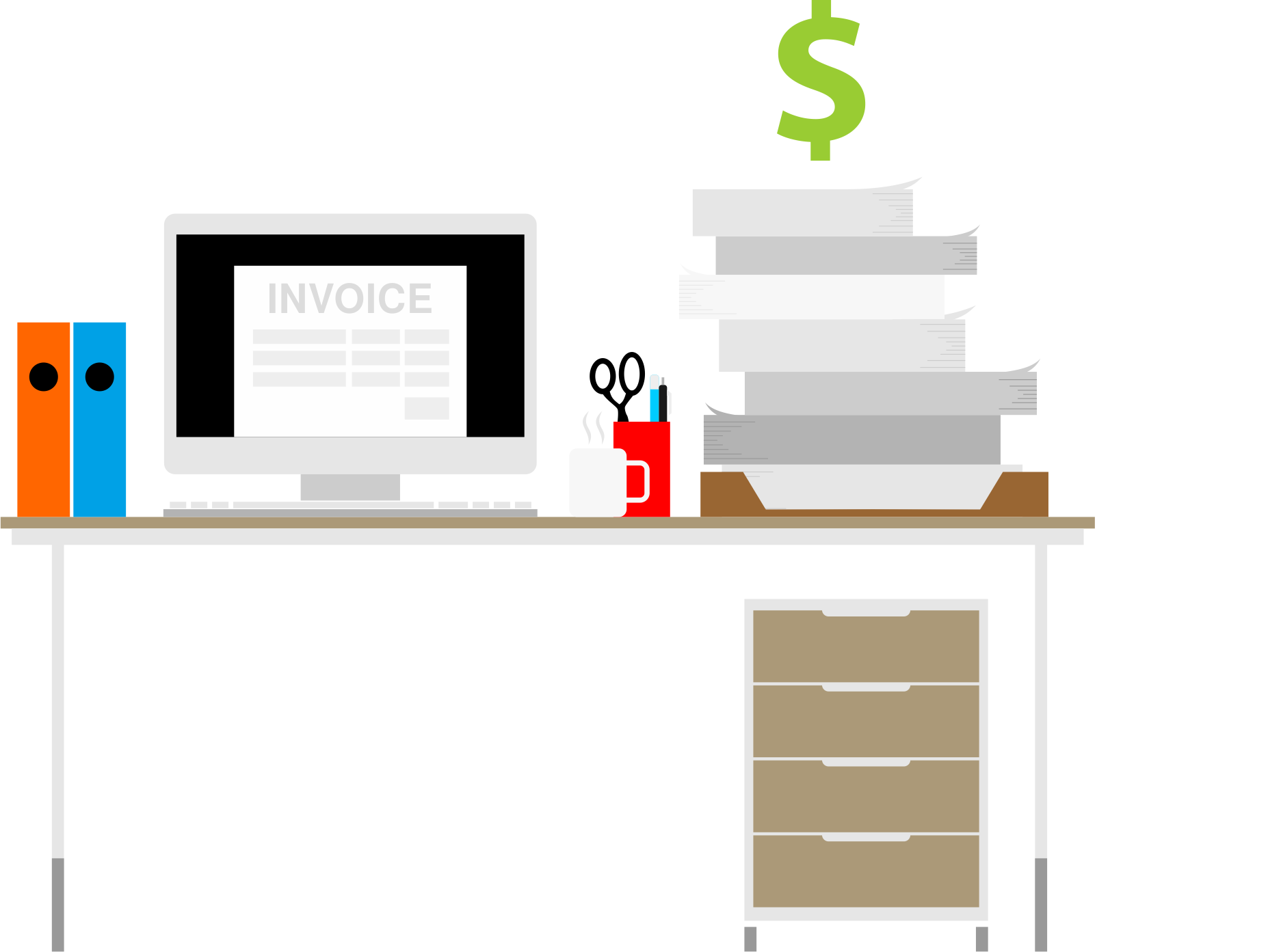 Invoices piling up? Contact a factoring company for the solution